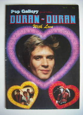 Duran Duran magazine - Pop Gallery Special Edition (No. 5)