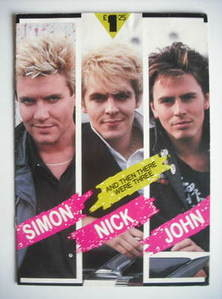 Duran Duran magazine - And Then There Were Three