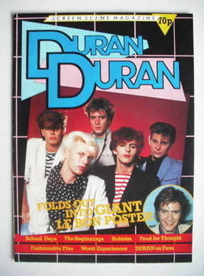 Duran Duran magazine - Screen Scene (Fold-Out Poster Mag)