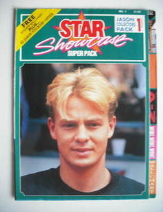 Star Showcase magazine - Jason Donovan cover (No. 1)