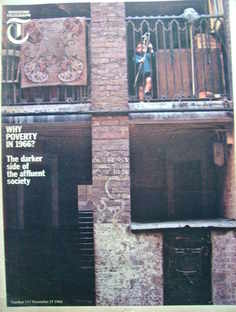 Weekend Telegraph magazine - Why Poverty In 1966 cover (25 November 1966)