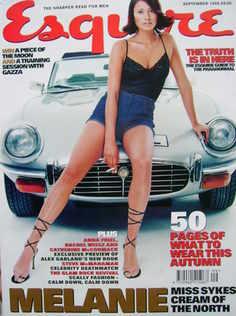 Esquire magazine - Melanie Sykes cover (September 1998)