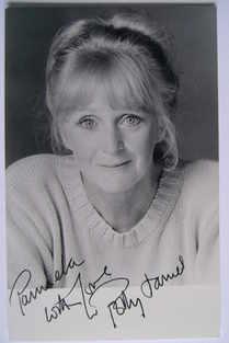 Polly James autograph