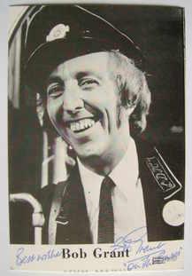Bob Grant autograph (hand-signed photograph)