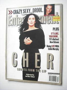 <!--1999-04-23-->Entertainment Weekly magazine - Cher cover (23 April 1999)