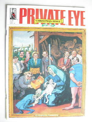 Private Eye magazine - 18 December 1992 (Christmas Issue)