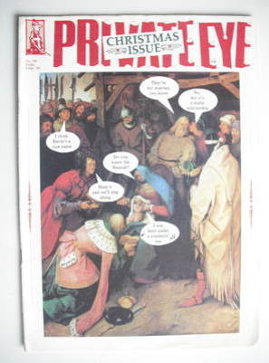 Private Eye magazine - 9 December 1988 (Christmas Issue)