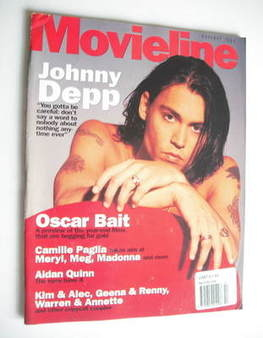 Movieline magazine - October 1994 - Johnny Depp cover