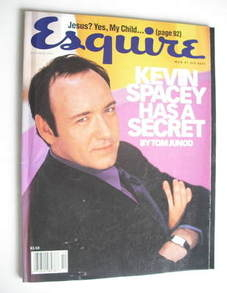 Esquire - Kevin Spacey cover (October 1997 - US Edition)
