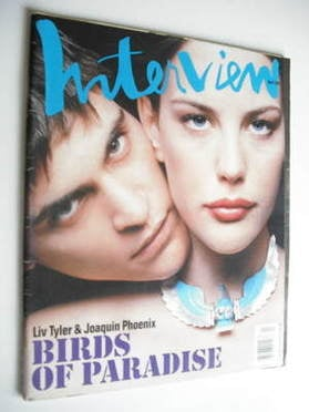 <!--1997-04-->Interview magazine - April 1997 - Joaquin Phoenix and Liv Tyl