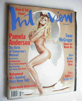 <!--1998-11-->Interview magazine - November 1998 - Pamela Anderson cover