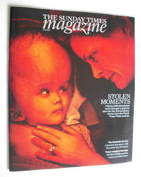 <!--2011-02-27-->The Sunday Times magazine - Stolen Moments cover (27 Febru
