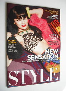 <!--2011-02-27-->Style magazine - Jessie J cover (27 February 2011)