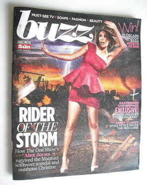 <!--2011-02-26-->Buzz magazine - Alex Jones cover (26 February 2011)