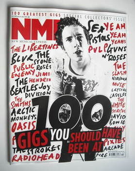 <!--2011-03-12-->NME magazine - 100 Gigs You Should Have Been At cover (12