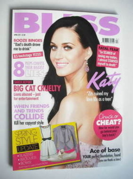 Bliss magazine - April 2011 - Katy Perry cover