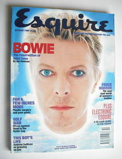 <!--1995-10-->Esquire magazine - David Bowie cover (October 1995)
