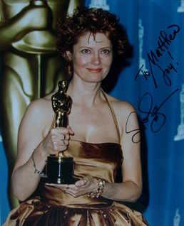Susan Sarandon autograph