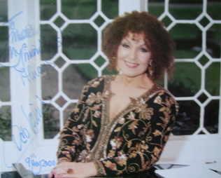 Cleo Laine autograph
