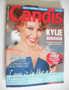 Candis magazine - February 2011 - Kylie Minogue cover