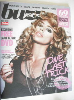 Buzz magazine - Billie Piper cover (5 February 2011)