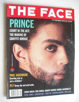 <!--1990-09-->The Face magazine - Prince cover (September 1990 - Volume 2 N