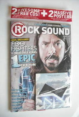 <!--2011-04-->Rock Sound magazine - Dave Grohl cover (April 2011)