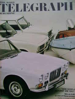 <!--1970-10-16-->The Daily Telegraph magazine - Motoring Competition cover