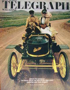 <!--1970-10-09-->The Daily Telegraph magazine - Stanley Steamer cover (9 Oc
