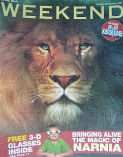 Weekend magazine - Aslan cover (5 November 2005)