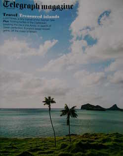 <!--2011-02-12-->Telegraph magazine - Treasured Islands cover (12 February