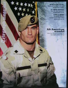 <!--2010-10-09-->Telegraph magazine - Pat Tillman cover (9 October 2010)