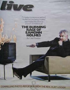 Live magazine - Eamonn Holmes cover (31 October 2010)