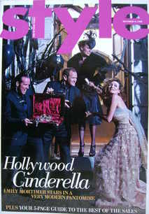 <!--2008-12-21-->Style magazine - Emily Mortimer, Cat Deeley, Alexander Arm