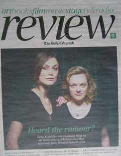 The Daily Telegraph Review newspaper supplement - 5 February 2011 - Keira K