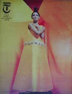 <!--1966-03-04-->Weekend Telegraph magazine - A Sun-Coloured Spring cover (
