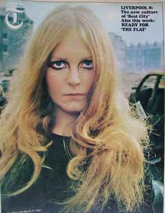 <!--1967-03-31-->Weekend Telegraph magazine - Madeleine Robinson cover (31