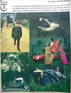 <!--1966-10-21-->Weekend Telegraph magazine - Motor Show Issue (21 October