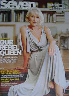 Seven magazine - Helen Mirren cover (6 February 2011)