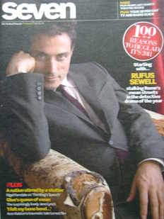 Seven magazine - Rufus Sewell cover (2 January 2011)