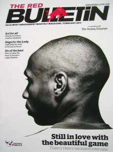 The Red Bulletin magazine - February 2011 - Thierry Henry cover