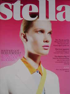 <!--2011-02-06-->Stella magazine - Colour Blocking cover (6 February 2011)
