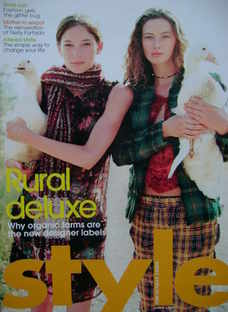 <!--2006-08-06-->Style magazine - Rural Deluxe cover (6 August 2006)