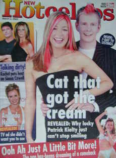 Hot Celebs magazine - Cat Deeley and Patrick Kielty cover (2 March 2003)