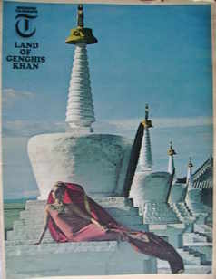 <!--1966-09-30-->Weekend Telegraph magazine - Land Of Genghis Khan cover (3