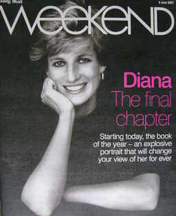 Weekend magazine - Princess Diana cover (9 June 2007)