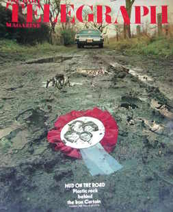 <!--1976-03-19-->The Daily Telegraph magazine - Mud On The Road cover (19 M
