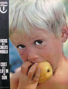 <!--1965-07-30-->Weekend Telegraph magazine - Focus On A Child's World cove