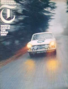 Weekend Telegraph magazine - Monte Carlo The Hard Way cover (15 January 1965)