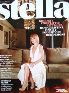 <!--2008-04-27-->Stella magazine - Christina Ricci cover (27 April 2008)